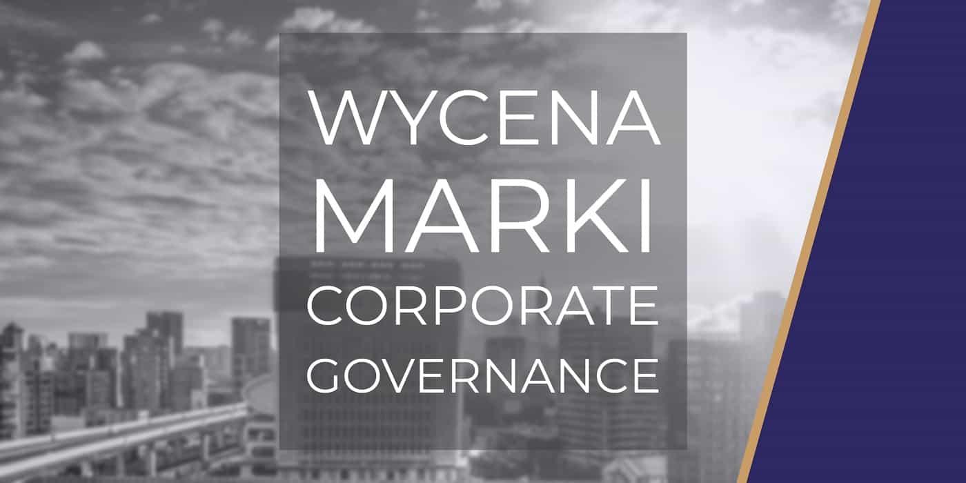 Wycena marki corporate governance