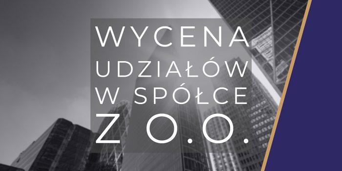 Wycena spółki z o.o.